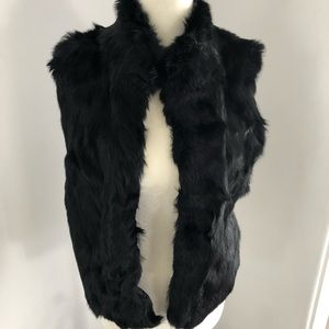 Rabbit Fur Vest from What Goes Around Comes Around